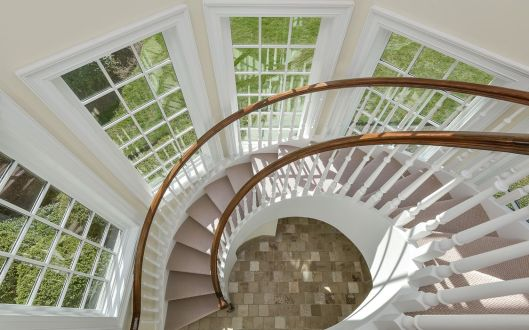 110 middle patent spiral stairs